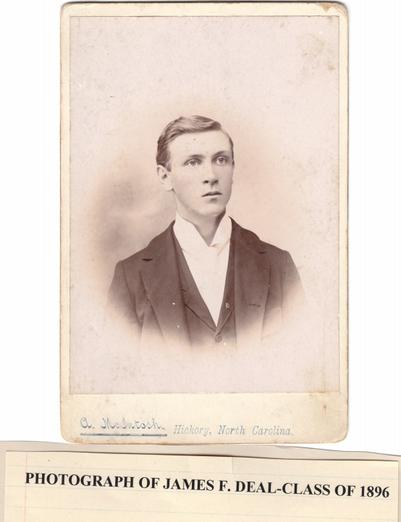 James Deal, 1896
