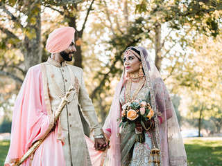 A Whimsical Indian Wedding
