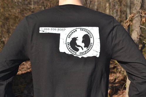 Cryptid Brothers Investigations YT Show 'Cracked White' Logo Tee
