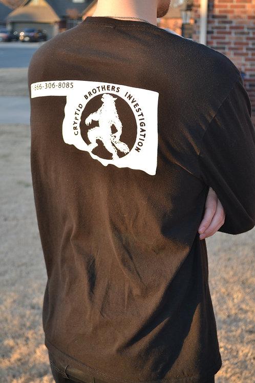 Cryptid Brothers Investigations Ok-Dogman Logo Shirt