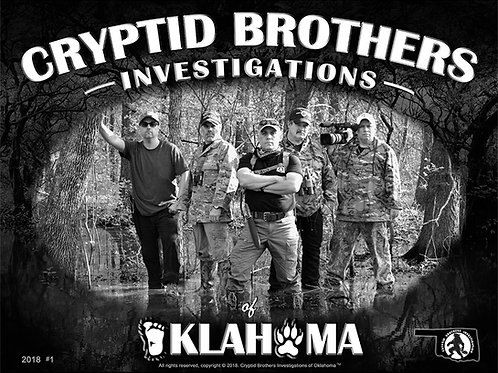Cryptid Brothers Investigations Poster #1