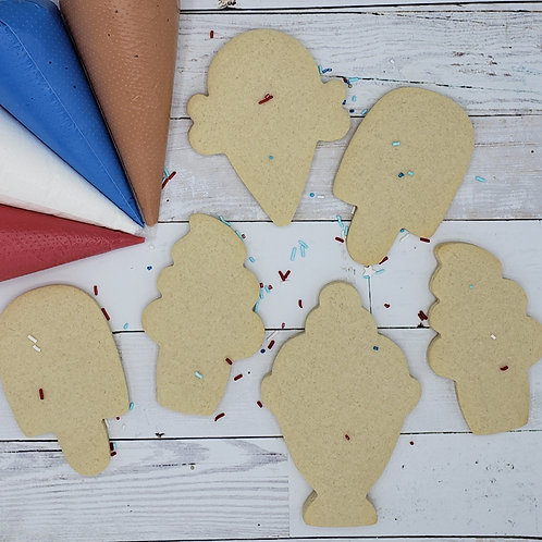 Ice Cream Social DIY Cookie Kit