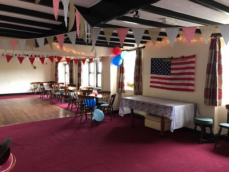 USA Themed 40th Party