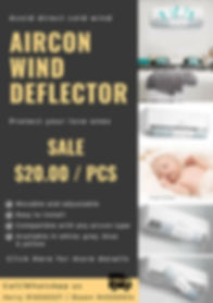 Copy of Copy of aircon deflector sale br
