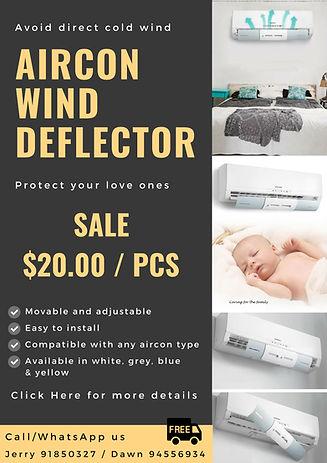 Copy of Copy of aircon deflector sale br