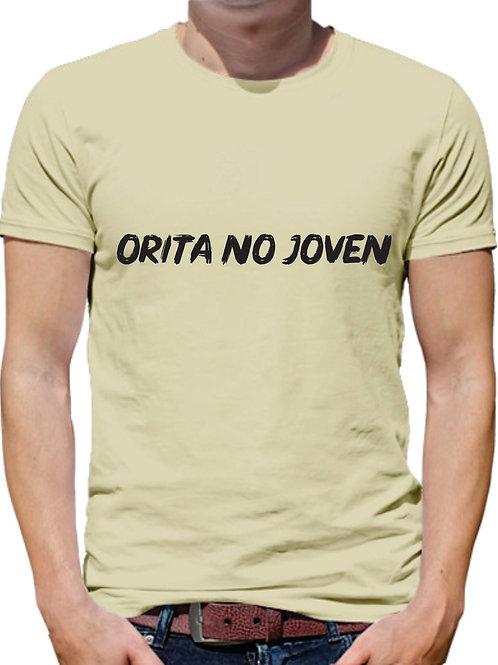 PLAYERA MEME ORITA NO JOVEN