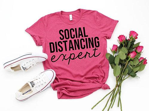 PLAYERA SOCIAL DISTANCING EXPERT