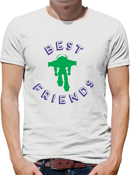 PLAYERA TOY STORY BEST FRIENDS