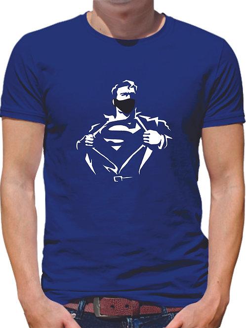PLAYERA SUPERMAN CUBREBOCAS