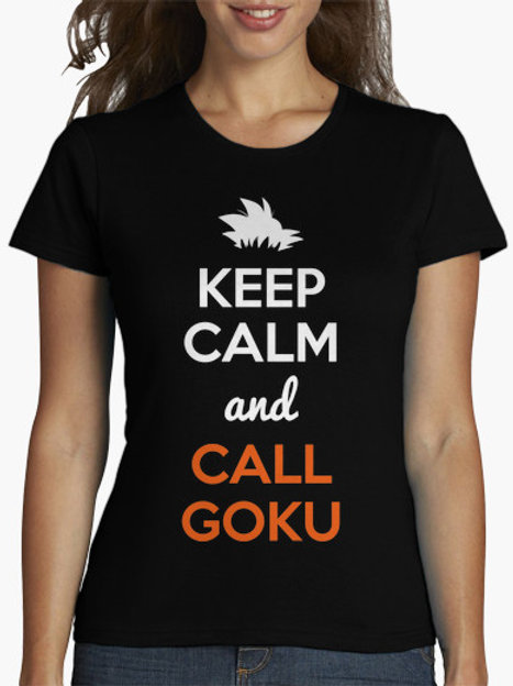 PLAYERA DRAGON BALL KEEP CALM AND CALL GOKU