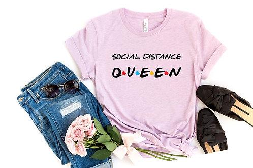 PLAYERA SOCIAL DISTANCE QUEEN