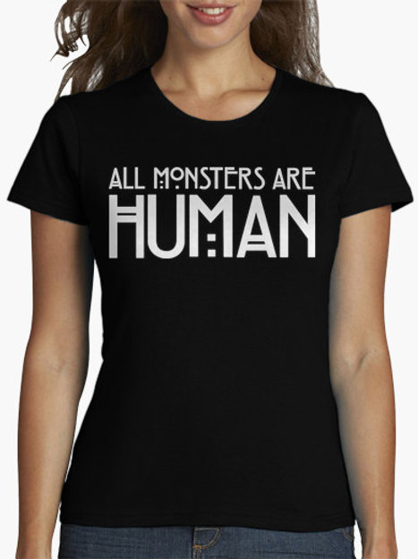PLAYERA AMERICAN HORROR STORY ALL MONSTERS AL HUMAN