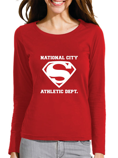 PLAYERA SUPERGIRL NATIONAL CITY