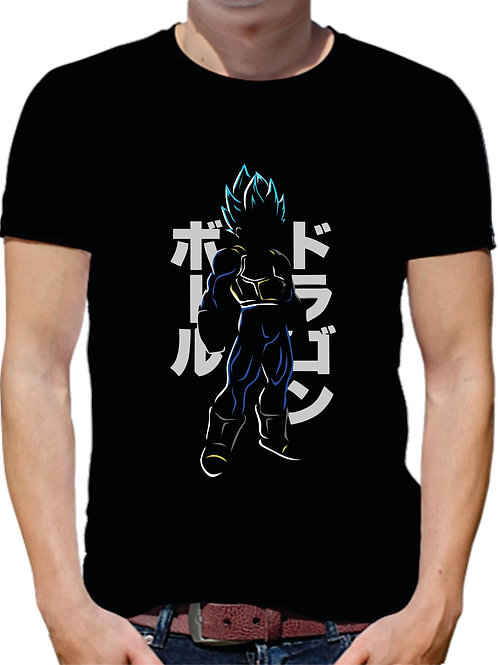 PLAYERA DRAGON BALL VEGETA