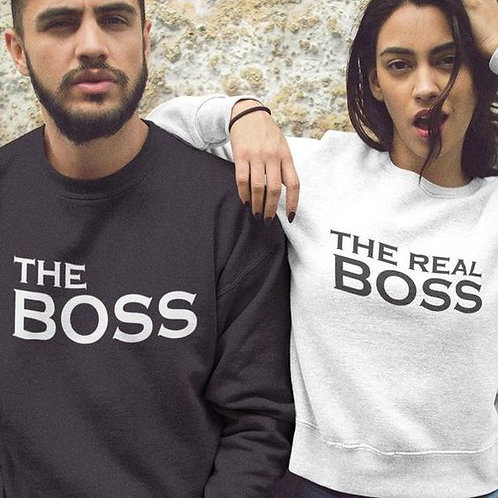 PLAYERAS THE BOSS THE REAL BOSS