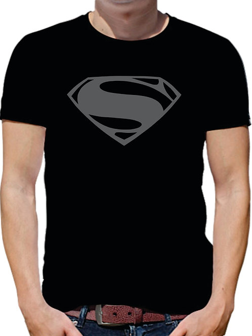 PLAYERA BLACK SUPERMAN
