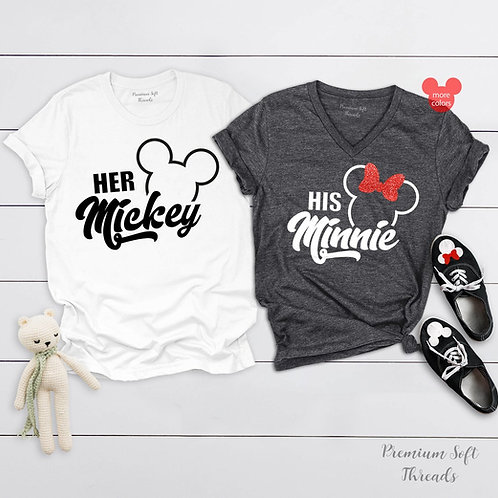 PLAYERAS MICKEY MINNIE