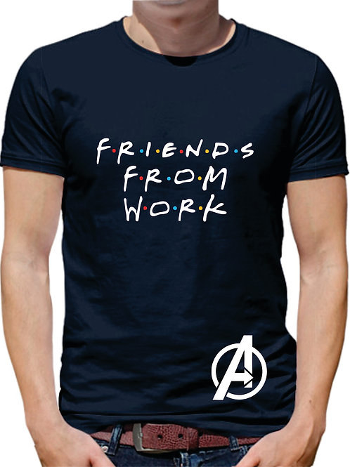PLAYERA THOR FRIENDS FROM WORK