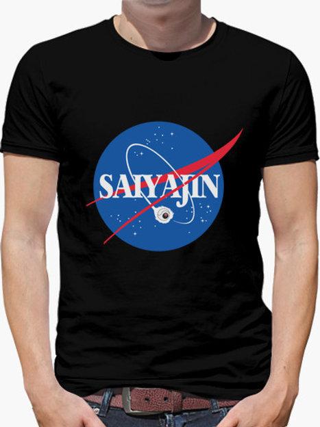 PLAYERA DRAGON BALL NASA SAIYAJIN