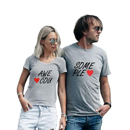 PLAYERAS COUPLE