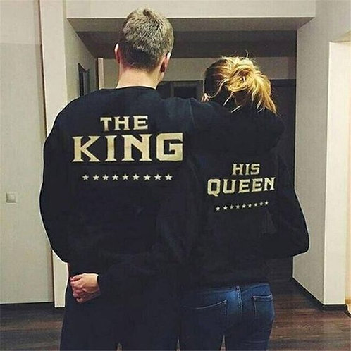 PLAYERAS KING QUEEN