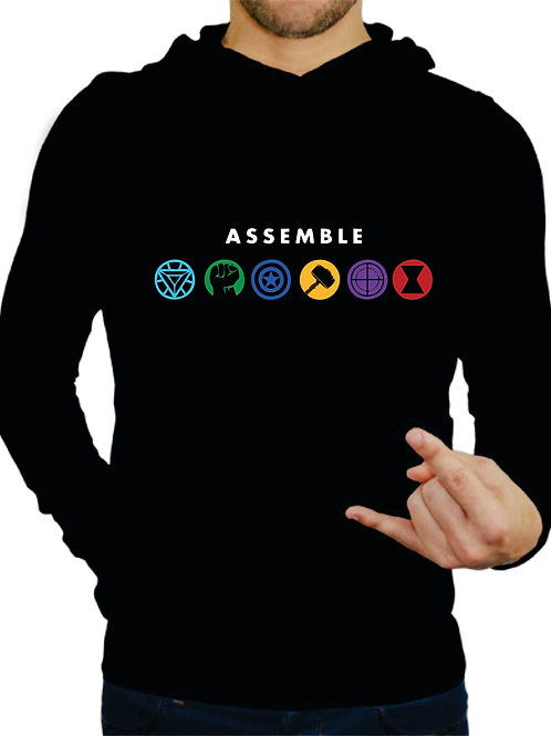 PLAYERA AVENGERS ASSEMBLE