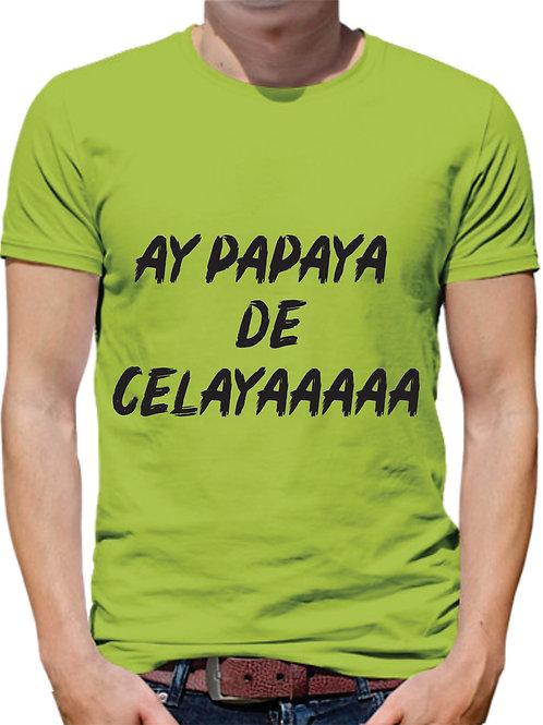 PLAYERA MEME AY PAPAYA DE CELAYA