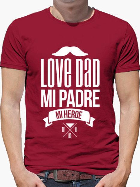 PLAYERA LOVE DAD