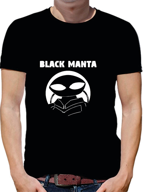 PLAYERA AQUAMAN BLACK MANTA