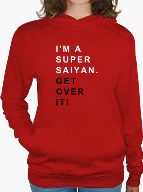 PLAYERA DRAGON BALL I M SUPER SAIYAN