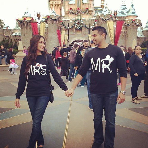 PLAYERAS MR AND MRS