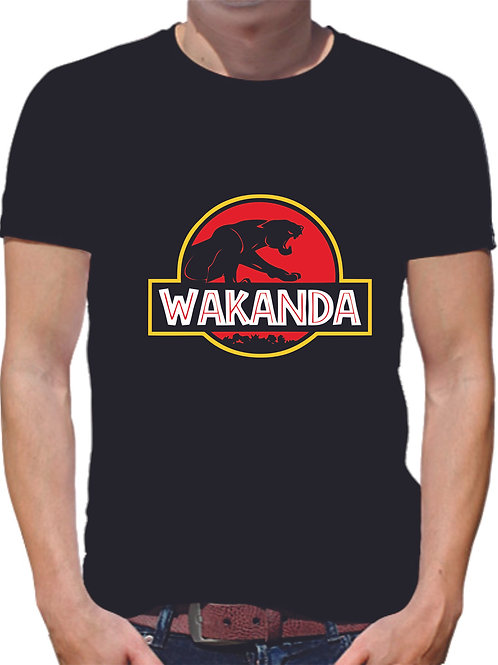 PLAYERA BLACK PANTHER WAKANDA