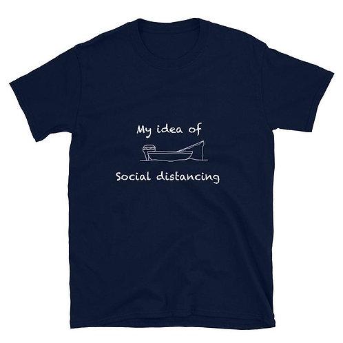 PLAYERA MY IDEA OF SOCIAL DISTANCING