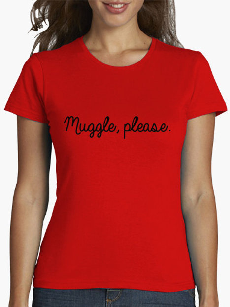PLAYERA MUGGLE, PLEASE