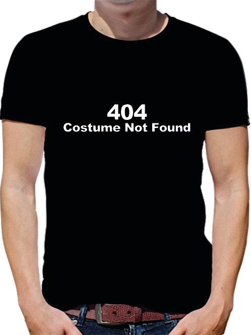 PLAYERA COSTUME NOT FOUND ERROR 404