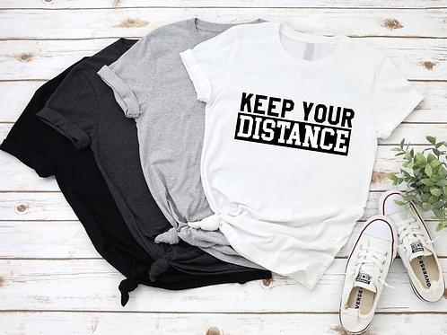 PLAYERA KEEP YOUR DISTANCE
