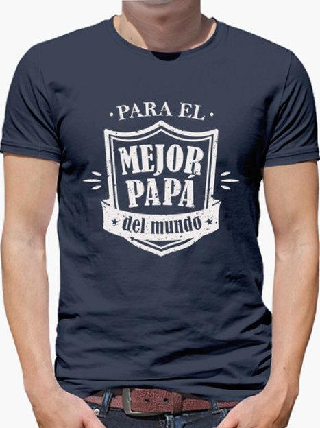 PLAYERA PARA EL MEJOR PAPA DEL MUNDO