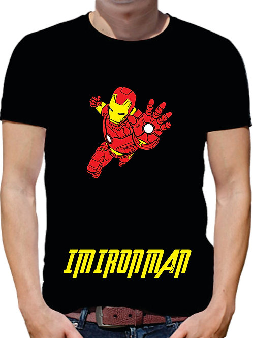 PLAYERA AVENGERS IRON MAN
