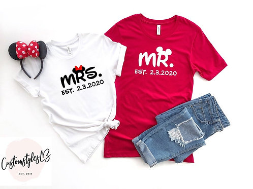 PLAYERAS MR MRS