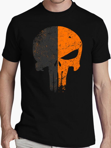 PLAYERA THE PUNISHER DEATHSTROKE
