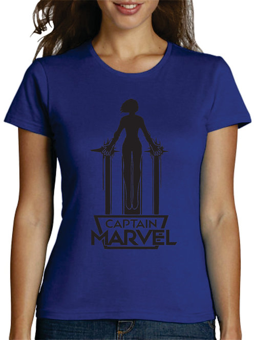 PLAYERA AVENGERS CAPITAN MARVEL