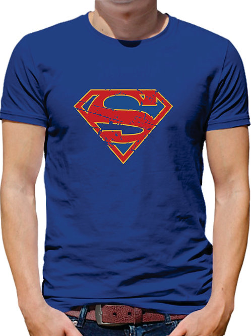 PLAYERA SUPERMAN SUPERGIRL
