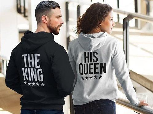 PLAYERAS THE KING THE QUEEN