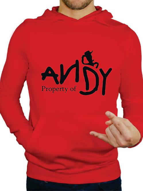 PLAYERA TOY STORY PROPERTY OF ANDY