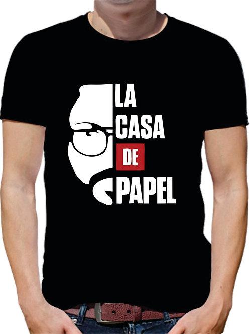 PLAYERA LA CASA DE PAPEL