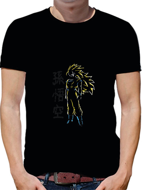 PLAYERA DRAGON BALL GOKU SSJ3