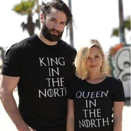 PLAYERAS KING IN THE NORTH