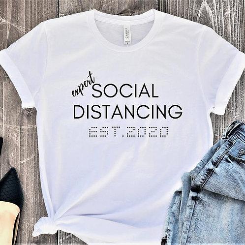 PLAYERA EXPERT SOCIAL DISTANCING