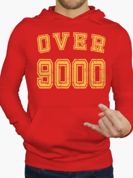 PLAYERA DRAGON BALL OVER 9000