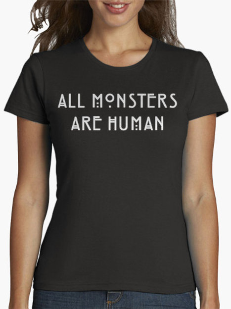 PLAYERA AMERICAN HORROR STORY ALL MONSTERS AL HUMAN